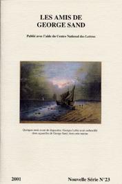 revue nouvelle série N°23 2001