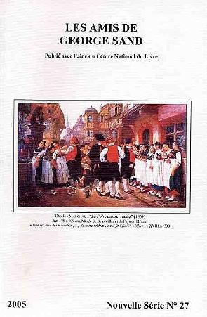 revue nouvelle série N°27 2005